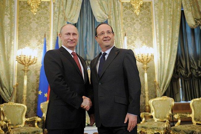 Олланд простит Путину Депардье
