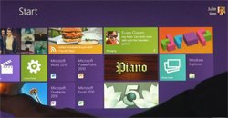Microsoft представила Windows 8