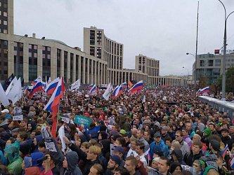 Самый успешный митинг за последние годы: как прошла акция протеста в Москве