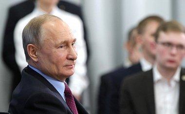 Поддержка перемен: рейтинг одобрения действий Путина растет три недели подряд