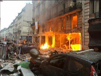 В Париже прогремел взрыв, ожидаются жесткие столкновения с полицией